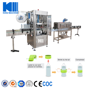Automatic PET Bottle Shrink Sleeve Labeling Machine