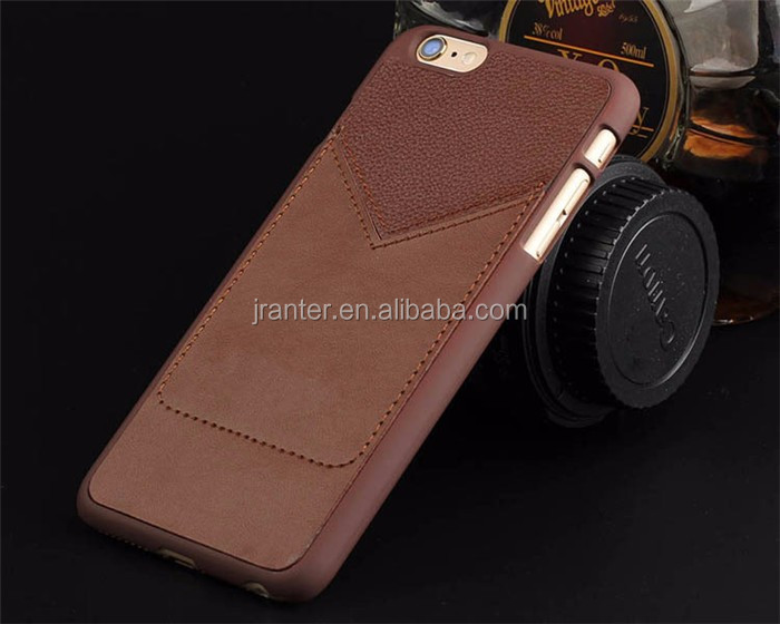2016 OEM for iPhone 5s Back Cover Leather Phone Cover Wholesale