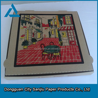 customized Cheap Scooter Delivery Mini Carton Pizza Box Manufacturer from China