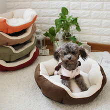 Wholesale small dog shell sofa nest 5 color 40 * 12cm size puppy bed nest