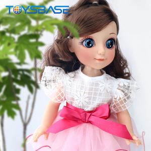 2018 Lovely Little Princess Girl With Clothes Dancing Dolls Toy