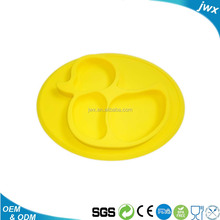 Hot Sale Baby Feeding Mat,Silicone Baby Placemat Plate Bowl,Kid Silicone Suction Placemat Tray