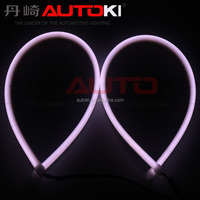 Autoki Super White LED Universal Car Light Daytime Running auto lamp DRL flexible light in the day