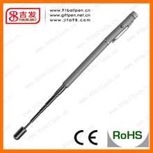 wholesale LED 4 in 1 Red green laser metal ballpen with ANTENNA for promotional gift