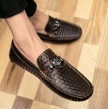 LM5597Q spring man dress shoe slip-on leather shoes men england shoes