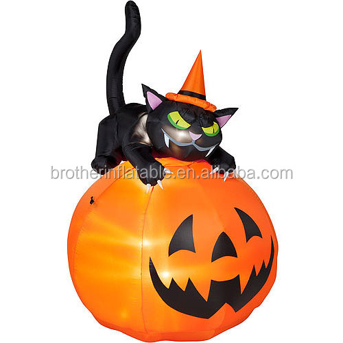 Manufacture supply wholesale giant halloween air blown inflatable items for halloween gemmy inflatables halloween