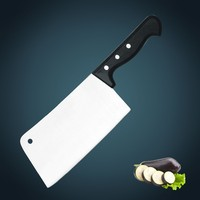 kitchen knife 3Cr13 Stainless steel Mannaia/Chinese cleaver/chopper 18cm Professional kitchen knife with POM handle