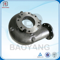 China manufacturer oem sand cast pump body grey iron casting
