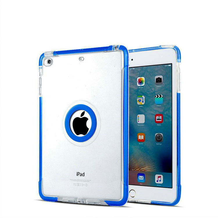 For ipad mini 2 flip case cover case, rubber cute case