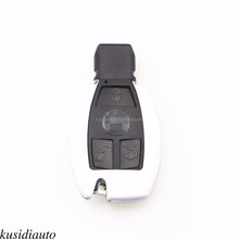Matte White Remote Smart car key Cover Fob Shell Case for Be nz