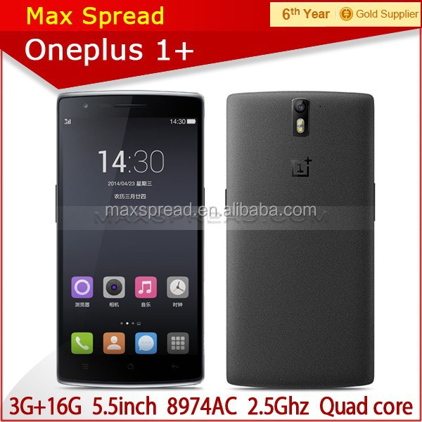 5.5 inch smartphone 4g LTE mobile phone by paypal western union TT escrow one plus one mobile phone