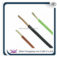 Solid pvc Insulated Single Core Copper Cable 1.5mm