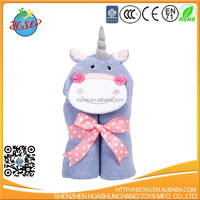 new design cute animal baby robe hooded baby bathrobe