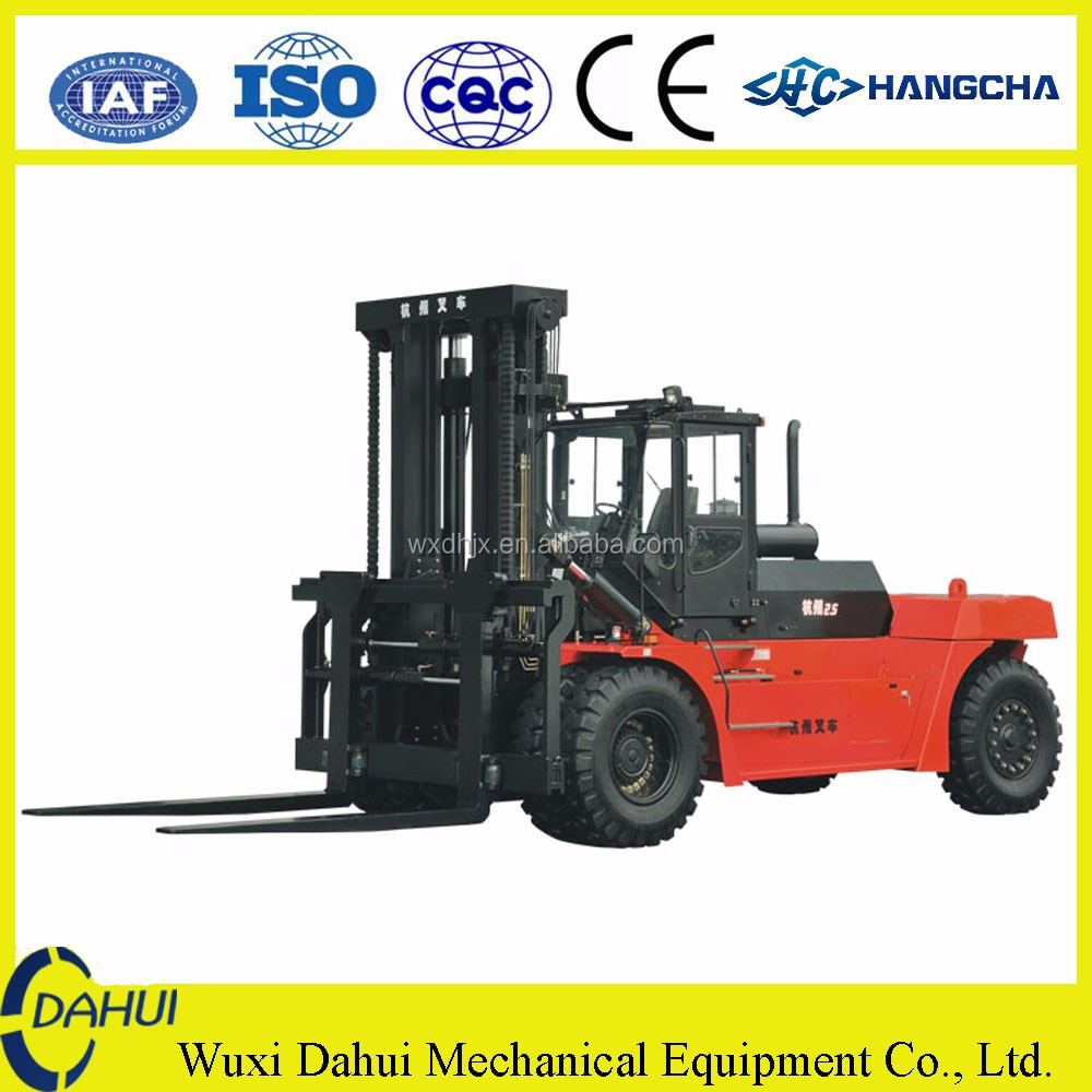 hangcha customized 25 ton large capacity diesel forklift