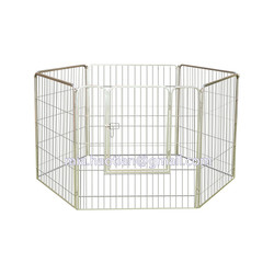 High quality metal pet pen 1m tall galvanized steel dog enclosure