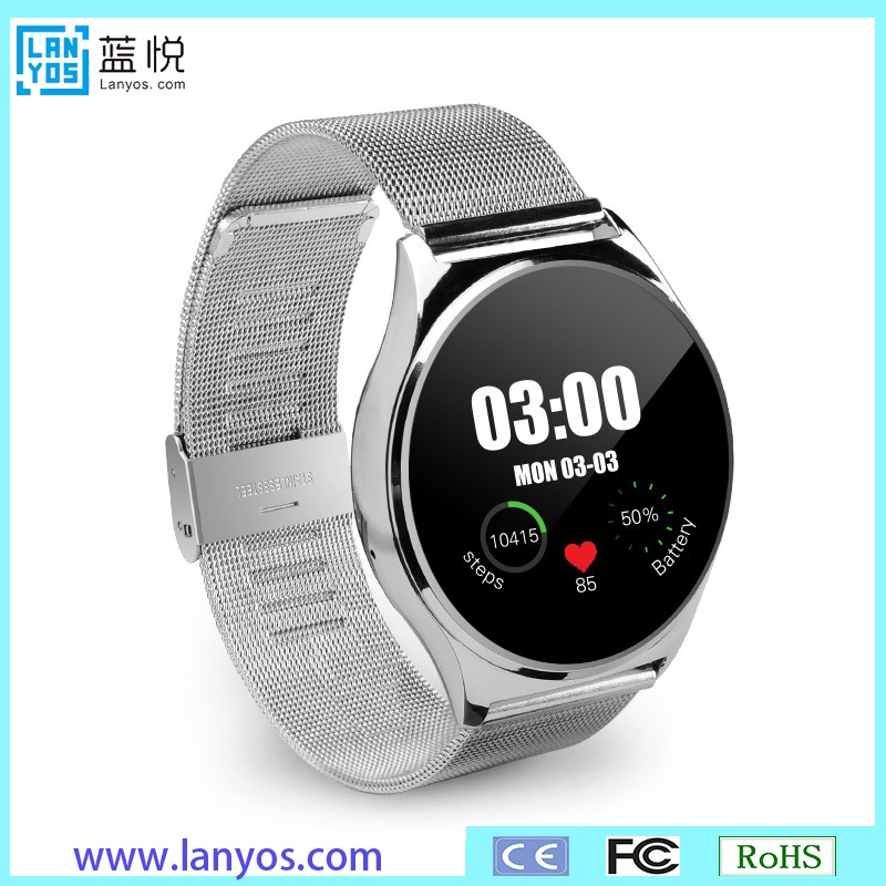 Latest wifi 3g sim card supported q7 projector smart mobile phone watch