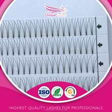 Wispy 3d volume lashes fake eyebrows 3d eyelash extensions human hair eyebrows private label 3d pre made fans