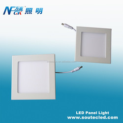 SMD light source light panel flexible led aluminum panel light frame 12 watt led panel light