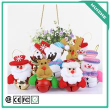 New Style Christmas Tree Decoration Christmas Gifts Christmas Fabrics Santa Claus Bell