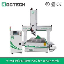 Furniture Machinery Woodworking 4 Axis RC1325RH-ATC