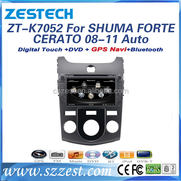 for kia cerato 2008 2009 2010 2011 2012 dvd navigation system with BT/SWC/USB/RDS