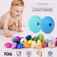 Shenzhen China Manufacturer Food Grade Silicone Loose Beads silicone chew toys