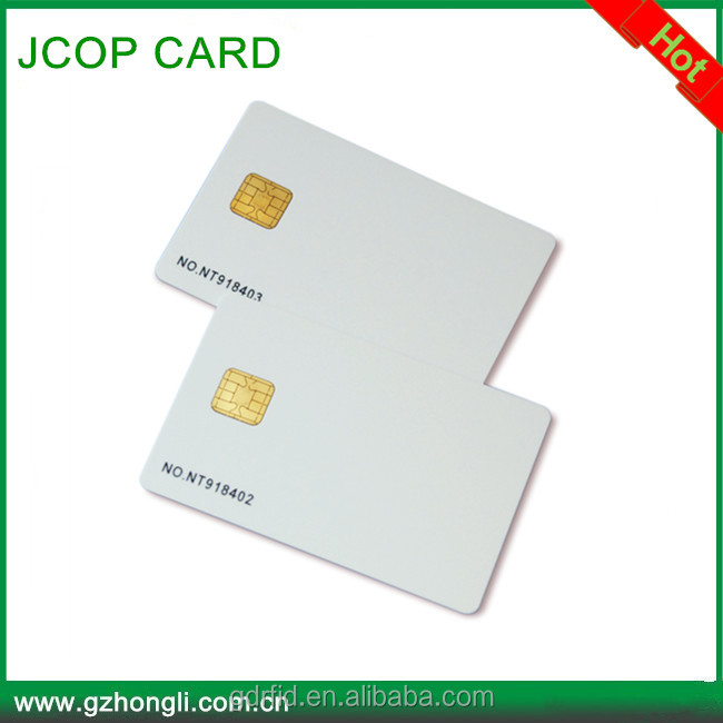 J2A080 CUP card with 13.56MHz JAVA CARD 80k JCOP CARD
