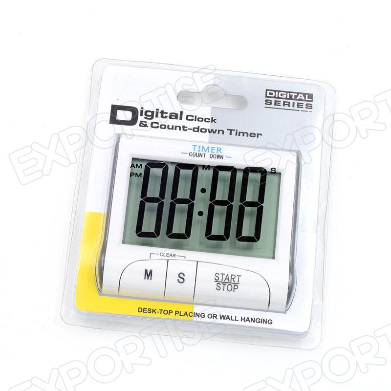 Hot selling digital clock countdown timer with CE certificate