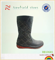 Nice winter kids waterproof snow boots for kids