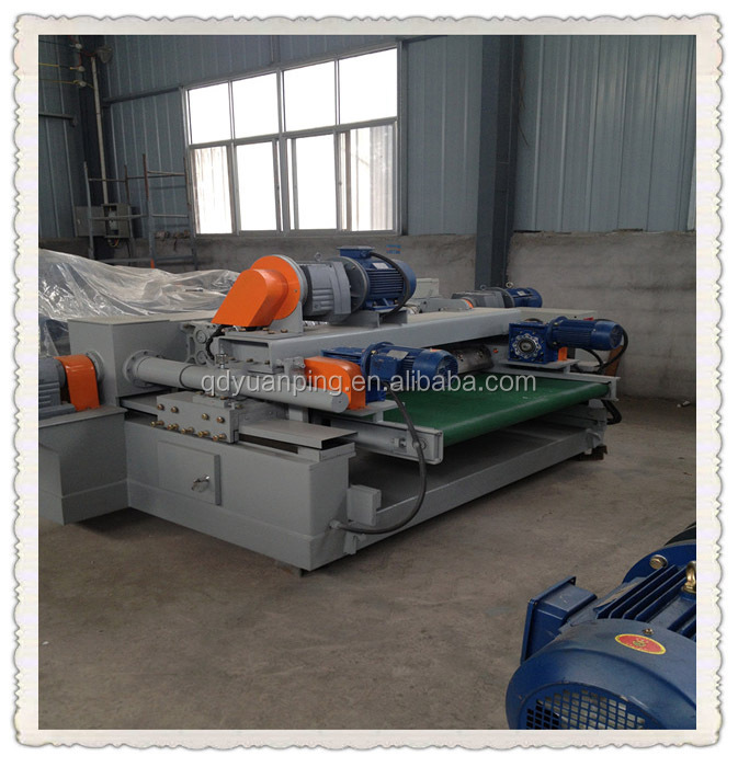veneer spindleless peeling machine