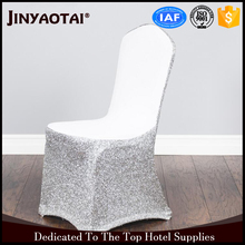 Sequin Side Banquet Chair Cover Sale for wedding