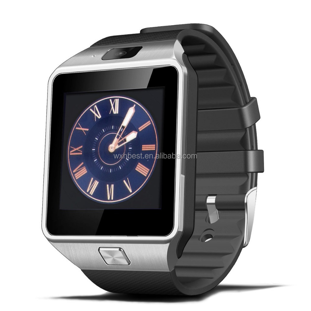 New Arrival Sim Card smart watch DZ09 With Camera smart watch support TF Card facebook for mobile phones