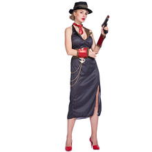 cosplay costumes adult women ladies Ganster Girl costume role play party dress