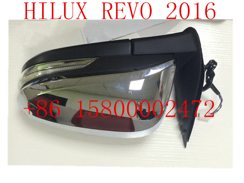 SIDE MIRROR FENDER MIRROR CAR AUTO MIRROR FOR TOYOTA HILUX REVO 2016