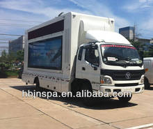 Best selling digital mobile display truck ,LED advertising screen truck for sale