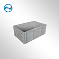 collapsible EU plastic box with lid of any size on hot sale alibaba china