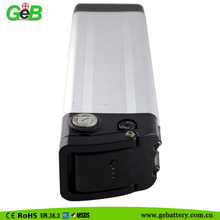 Lithium-ion Battery for Electric Bicycles, with Capacity of 10Ah 36v silver fish rechargeable