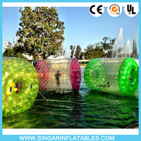 100% TPU water sphere,water walking ball,hamster water ball for rental