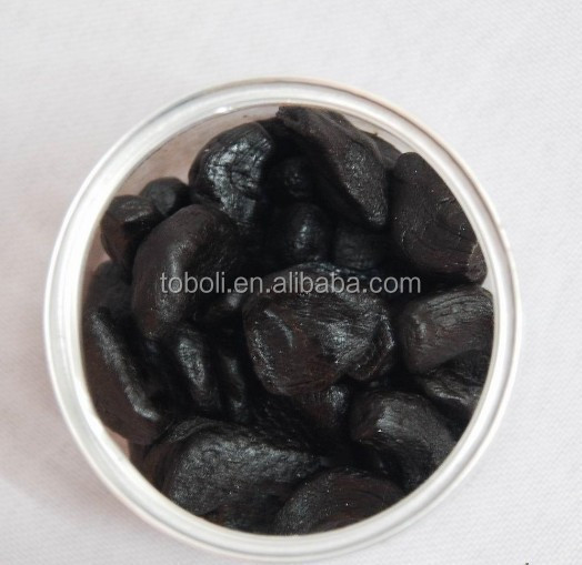 Chinese organic fermented black garlic