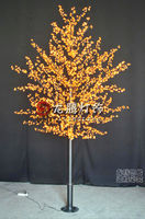 Orange led tree, led japanese cherry blossom tree light