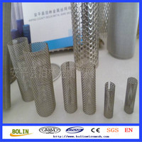 Stainless Steel Perforated Casing Pipe / Water Well Sand Filter (free sample)