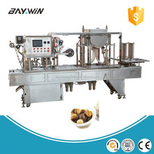 Chocolate Biscuit Cup Filling and Sealing Machine, Chocolate Biscuit Cup Filling Packing Machine