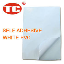Self Adhesive White PVC Film