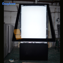 single/double side advertising Outdoor Scrolling standing Light Box