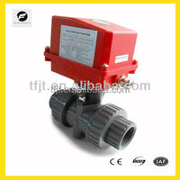 24VDC,220VAC electric valve with position indicator , Smooth flow, no block up