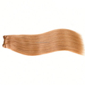High quality brazilian sew in human hair extensions strawberry blonde 100 human hair weave brands