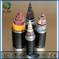 china supplier PVC flexible cable copper core control cable