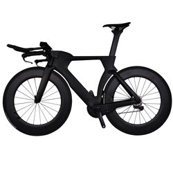 2018 high - end DI2 carbon fiber time trial bike super light tt chinese cheap complete time trial bike for sale