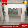 antique marble fireplace mantel