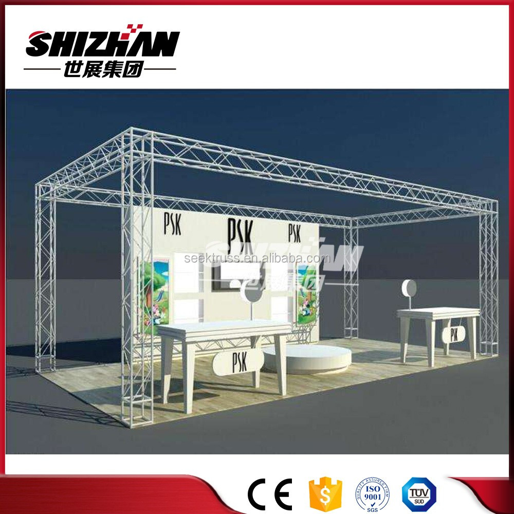 Factory supply aluminum roof truss/exhibition booth roof truss